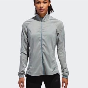 Adidas 🌧 All Weather Slim Fit Running Jacket NEW
